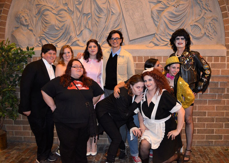 "The ""Completely Crazy"" Rocky Horror cast performs every Saturday night in Woodbridge, Illinois."