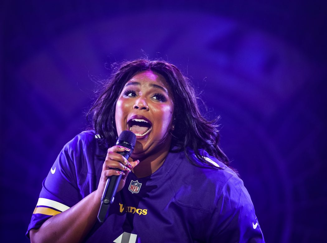 Lizzo, feeling Good As Hell in MN.