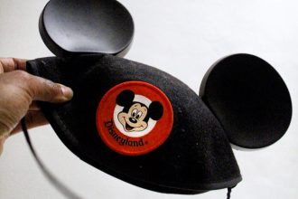 Disneyland Mickey Ears Cap